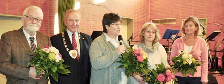 Bürgermeister dankt dem Willkommens-Team bei Neujahrsempfang